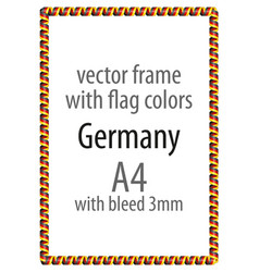 Flag v10 germany vector