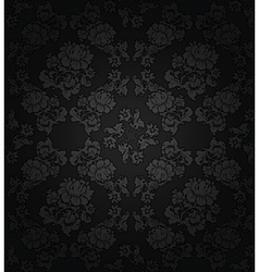floral ornamental background vector image