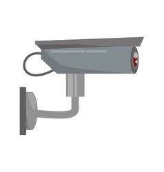 security camera privacy protection sign vector image