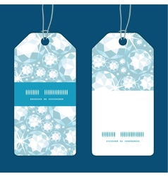 Shiny diamonds vertical stripe frame pattern tags vector