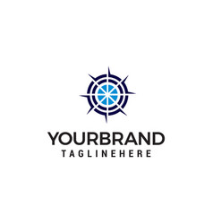 target logo design concept template vector image