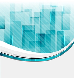 Abstract squares background for design business vector image vector image