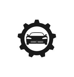 automotive car logo vector image