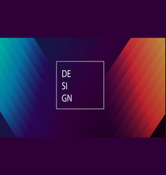 background with gradient for design vector image