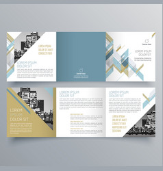 brochure design 688 vector image