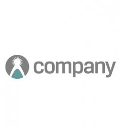 Charity company logo vector
