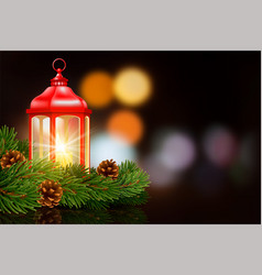 christmas and new year design with vector image