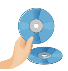 dvd digital video disc or versatile optical discs vector image