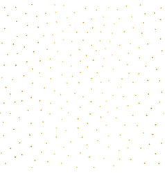 gold foil dots hand drawn background vector image