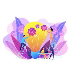 new idea engineering concept vector image