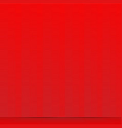red curtain and wooden floor vector image