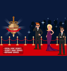 Special event security vector