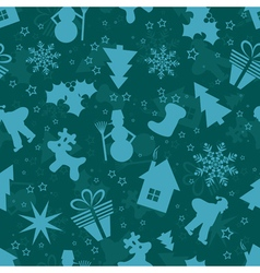 Template Christmas pattern vector image