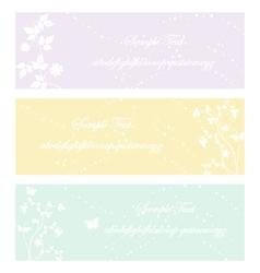 vintage flower eps10 vector image