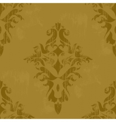 vintage wallpaper vector vector image