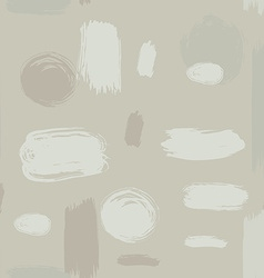 ink brush strokes seamless pattern vector image