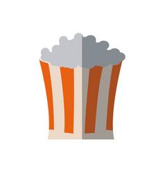 pop corn food celebration party patrotic vector image
