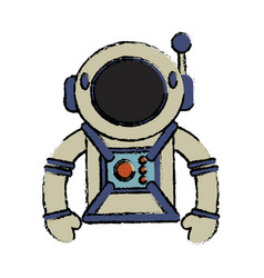 suit space astronaut image vector image vector image
