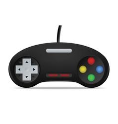 Gamepad Joystick vector image vector image