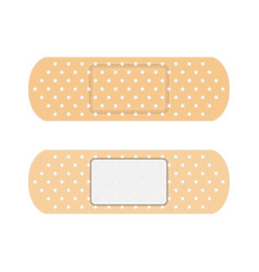 adhesive elastic medical plasters vector image