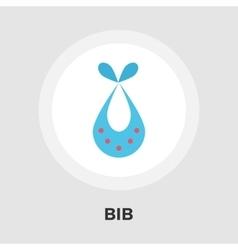 Bib Flat Icon vector image