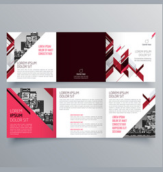 brochure design 692 vector image