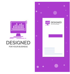 Business logo for analytics processing dashboard vector