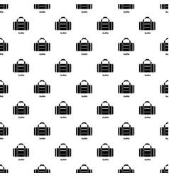 Duffel pattern seamless vector
