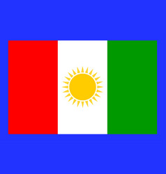 flag of northern province of sri lanka vector image