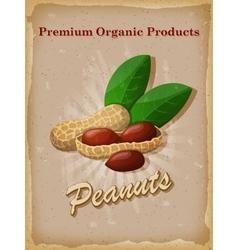 Peanuts vintage poster vector