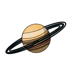 planet icon image vector image