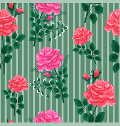 Rose pattern2-seamless pattern vector
