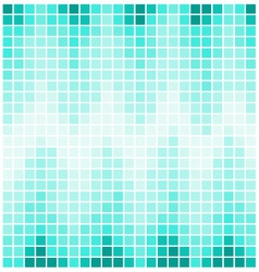 Square pixel mosaic background vector