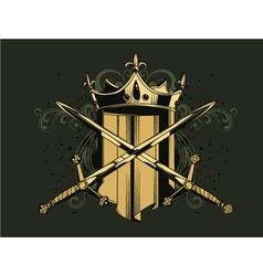 vintage emblem vector image