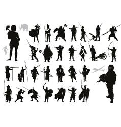 Warriors collection vector