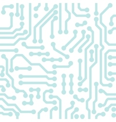 Abstract circuit chip background vector image