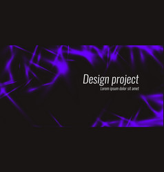 abstract background with dynamic lines vector image