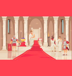 ancient rome vector image