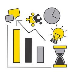 Business statistics vector