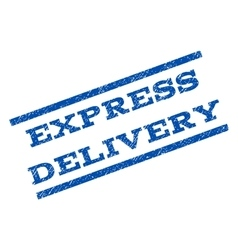 Express Delivery Watermark Stamp vector