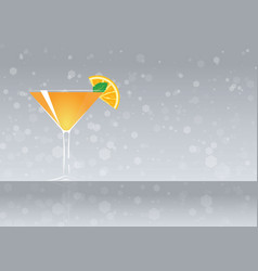 Official cocktail icon the unforgettable paradise vector
