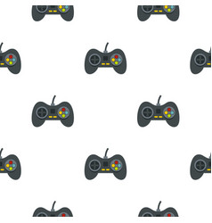 Video game controller pattern seamless vector