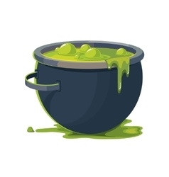 Witch Cauldron vector