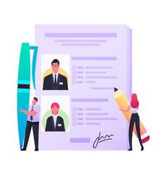 Work descriptions recruitment headhunting concept vector