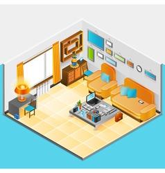 Home Interior Design vector image