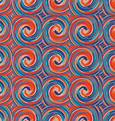 Pattern of colored tornado vector image