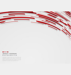 abstract of high technology motion gradient red vector image