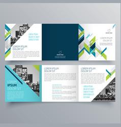 brochure design 701 vector image