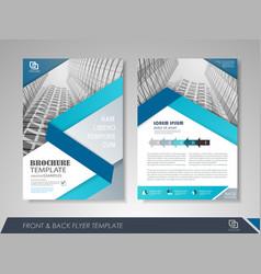 corporate brochures vector image