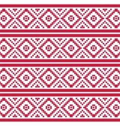Geometric seamless pattern pixel vector
